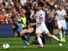 Lyon prend une option sur le titre. AFP