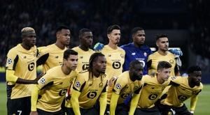 Pour Lille, la désillusion d'hier porte les espoirs de demain. AFP