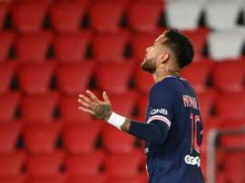 Neymar veut rester au Paris Saint-Germain. afp