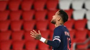 Neymar veut rester au Paris Saint-Germain. afp