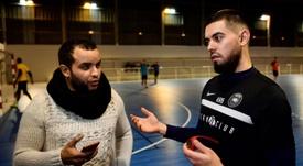 Kevin croit en ses chances à l'Euro de Futsal. AFP