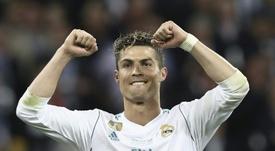 Al Khelaifi quiere convencer a Cristiano. AFP