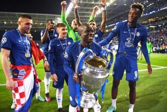 El Chelsea ganó la última Champions. AFP
