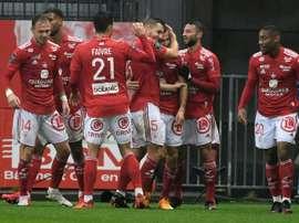 Reims retrouve le sourire contre Brest. AFP