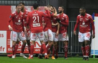 Brest renverse Saint-Étienne. AFP