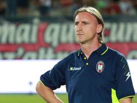 Nicola quits Serie A strugglers Crotone. AFP