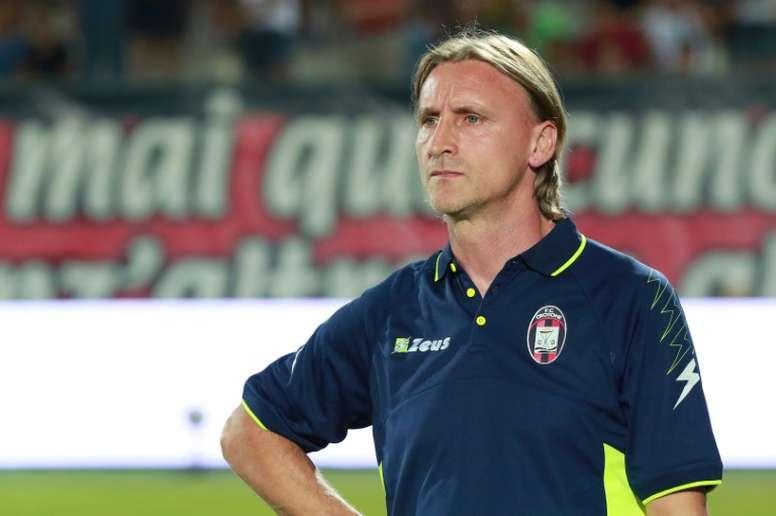 Nicola quits Serie A strugglers Crotone. AFP