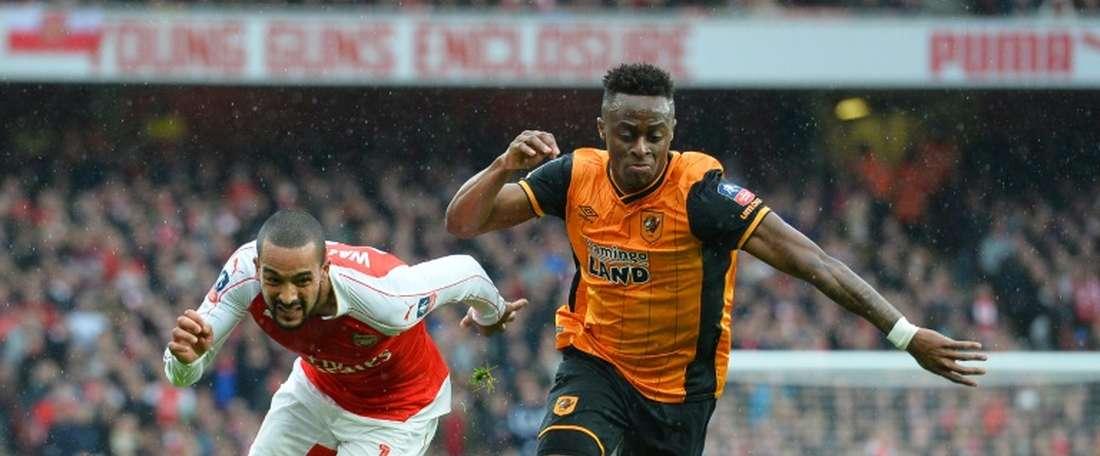 Odubajo estaría a punto de firmar por el Aston Villa. AFP/Archivo