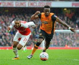 Odubajo could be moving to Celtic if his injury does not hold him back. AFP