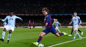 Los ocho elegidos para sanear las cuentas del Barça. AFP