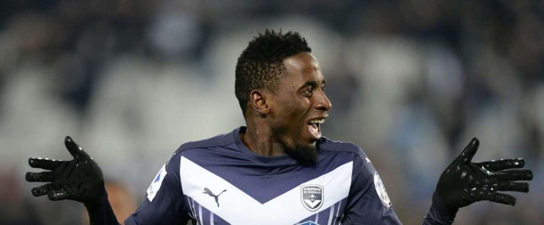 Le milieu de terrain de Bordeaux André Biyogo Poko part jouer à Karabükspor. AFP