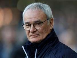 Ranieri comienza una nueva aventura en la Premier League. AFP