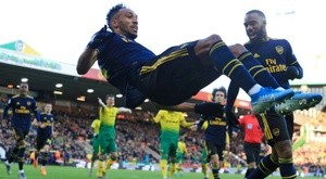 The Gunners are not doing well at the moment. AFP