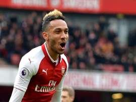 O Arsenal bateu o Stoke City por 3-0. AFP