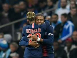 Kylian Mbappe opened the scoring for PSG.
