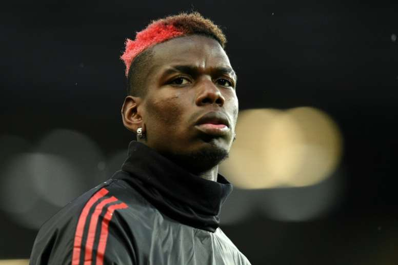 Pogba benched for Sevilla game. AFP