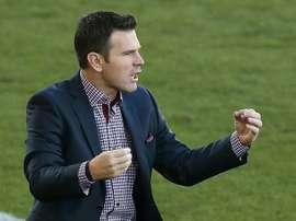 Meilleur entraîneur de MLS. AFP