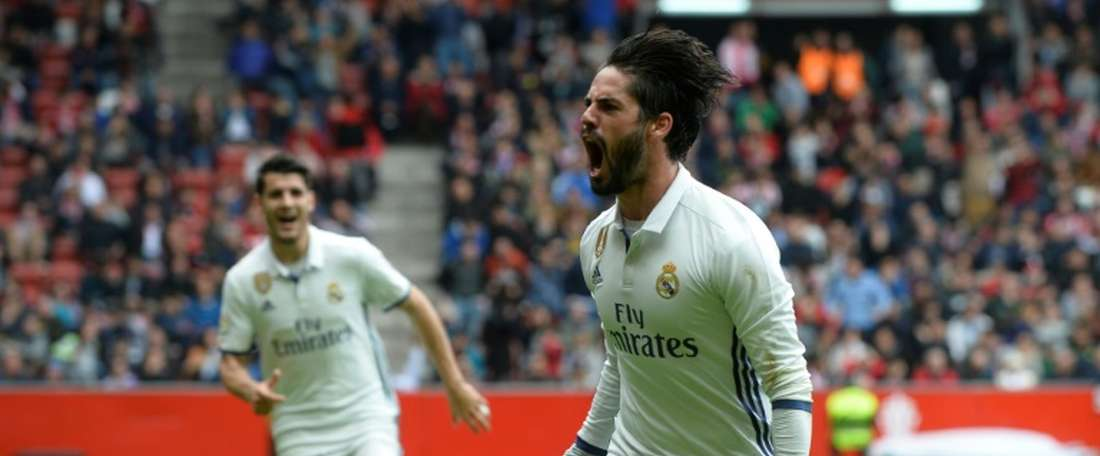 Isco scored two great goals to win the game. Twitter