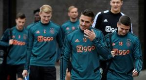 Ajax quebra seu recorde de gols. AFP
