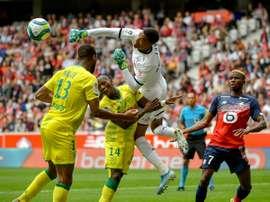 Les compos probables du match de Ligue 1 entre Metz et Nantes. AFP
