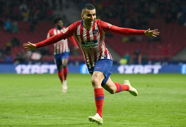 El Atlético rechaza otra oferta del Milan por Correa. AFP