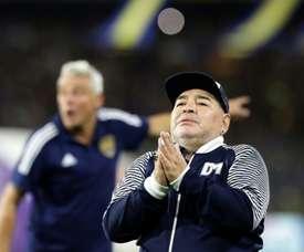 Fren parla di Maradona. AFP
