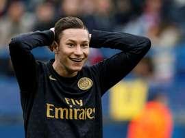 Arsenal et le Hertha Berlin s'intéressent à Draxler. AFP