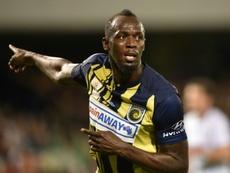 Bolt dit au revoir aux Mariners. AFP