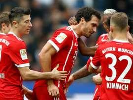 2-2 en match aller, le Bayern est prêt à recevoir Berlin. AFP