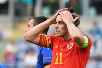 La Gales de Bale aspira a clasificarse a través de la repesca. AFP/Archivo