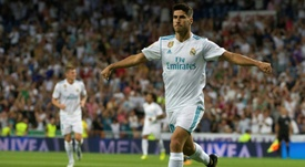 Asensio scored twice in a 2-2 draw with Valencia. AFP