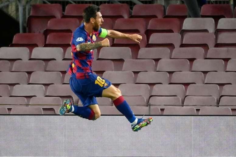 Lionel Messi rancunier envers Kostas Manolas ? afp