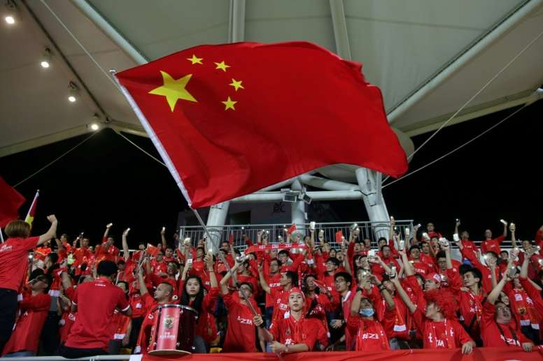 La Chine veut aguerrir son équipe olympique en Allemagne. AFP