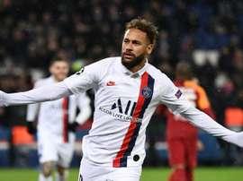 Neymar volta a cobrar o Barcelona. AFP