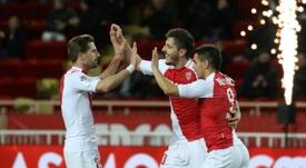 Les compos probables du match de Ligue 1 entre Amiens et Monaco. AFP