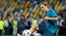 Según Butragueño, Modric no se moverá. AFP