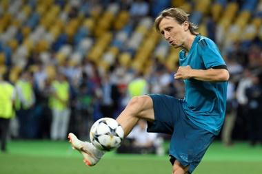 Modric ne partira pas du Real Madrid. AFP