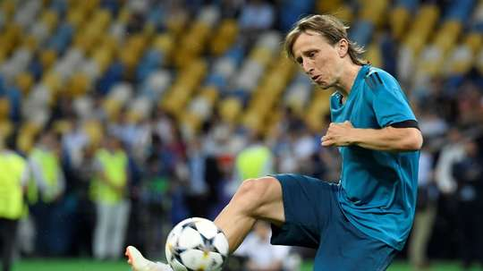 Modric appears to have made his desire to stay at Real clear. AFP