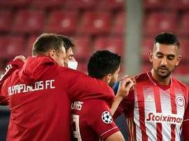 Marseille rate son retour en Europe. afp