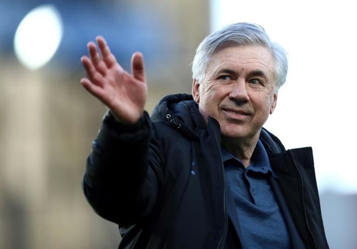 Ofereceram a Ancelotti opções de casa. AFP