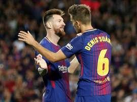 Messi termina contrato com o Barcelona em junho de 2018.