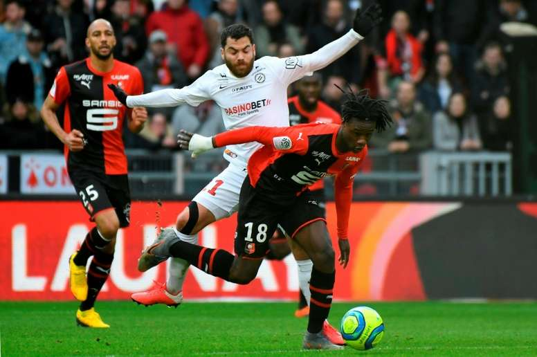 Rennes president continues to block Camavinga's exit. AFP