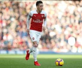 Özil, jogador do Arsenal. AFP