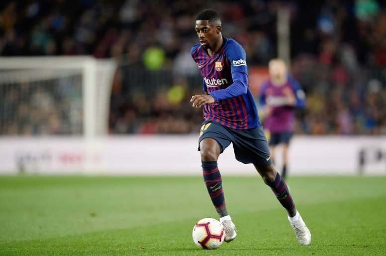 Barça will appeal sanctions to Dembele and Araujo. AFP