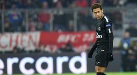 Nadie sabe qué pasará con Neymar. AFP