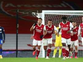 Le formazioni ufficiali di Arsenal-Newcastle. AFP