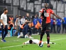C3, Lazio-Rennes: Niang, assagi, revient en Italie. AFP
