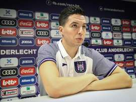 On ne reverra pas Nasri sous les couleurs d'Anderlecht. AFP