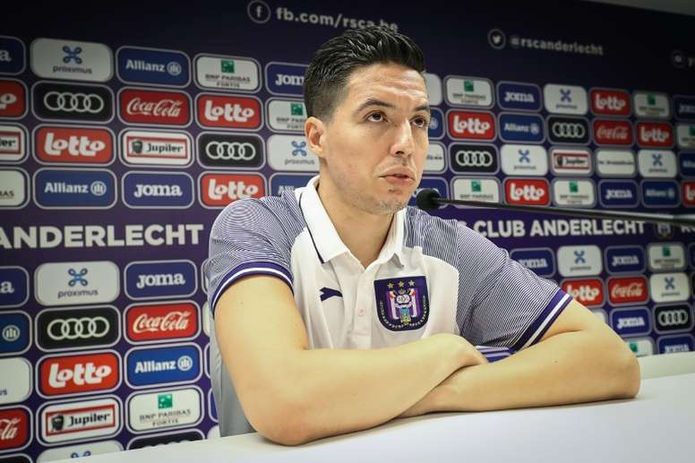 Anderlecht regrette le recrutement de Nasri. AFP