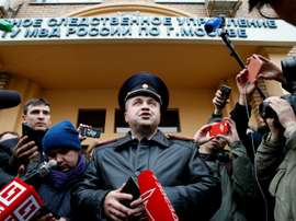 Le porte-parole du ministère russe. AFP